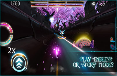 Screenshots of the Dream Chaser game for iPhone, iPad or iPod.