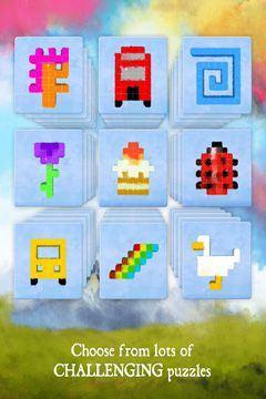 Download Dream of Pixels iPhone free game.
