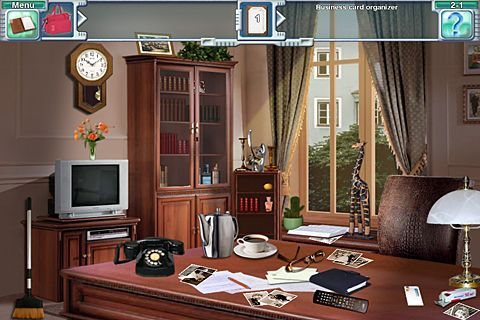 iPhone、iPad または iPod 用Dream sleuth: Hidden object adventure questゲームのスクリーンショット。