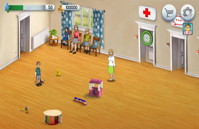 Écrans du jeu Dreamjob Kid's Doctor - My little hospital pour iPhone, iPad ou iPod.