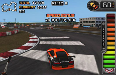 Screenshots do jogo Drift Mania Championship para iPhone, iPad ou iPod.