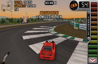 Capturas de pantalla del juego Drift Mania Championship Gold para iPhone, iPad o iPod.