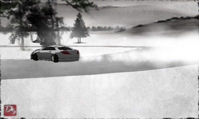 Screenshots of the Drift Sumi-e game for iPhone, iPad or iPod.