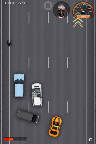 Screenshots of the Drive! game for iPhone, iPad or iPod.