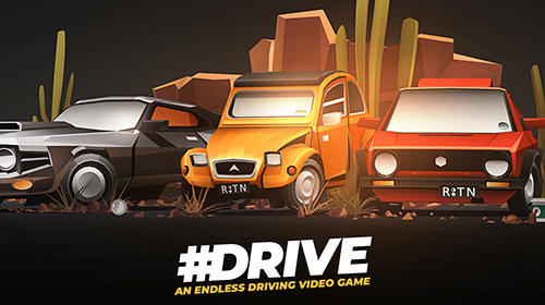 Drive: An endless driving video game