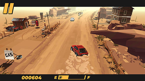 Screenshots of the Drive: An endless driving video game game for iPhone, iPad or iPod.