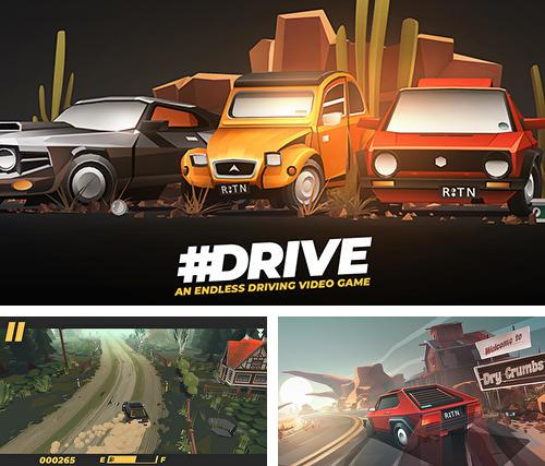 Download Drive: An endless driving video game iPhone free game.