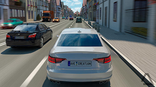 Free Driving zone: Germany download for iPhone, iPad and iPod.