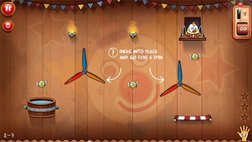 Descarga gratuita de Drop the chicken 2 para iPhone, iPad y iPod.