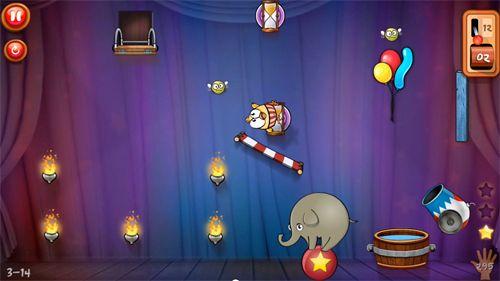 Capturas de pantalla del juego Drop the chicken 2 para iPhone, iPad o iPod.