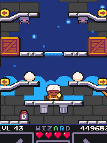 Screenshots vom Spiel Drop wizard tower für iPhone, iPad oder iPod.