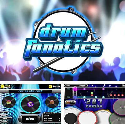 In addition to the game MotoHeroz for iPhone, iPad or iPod, you can also download Drum Fanatics for free.