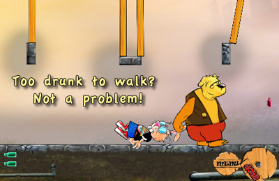Capturas de pantalla del juego Drunk Rabbit para iPhone, iPad o iPod.