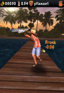 Screenshots of the Drunken Klaus 3D game for iPhone, iPad or iPod.
