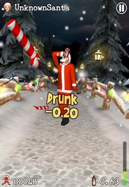 Free Drunken Santa Klaus download for iPhone, iPad and iPod.