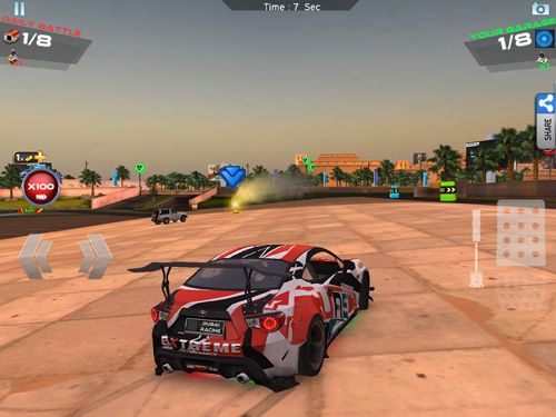 iPhone、iPad 或 iPod 版Dubai racing游戏截图。