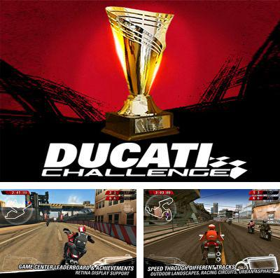 In addition to the game Citytopia: Build your dream city for iPhone, iPad or iPod, you can also download Ducati Challenge for free.