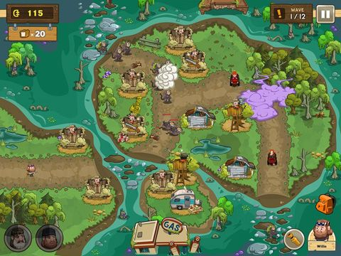 Screenshots of the Duck commander: Duck defense game for iPhone, iPad or iPod.