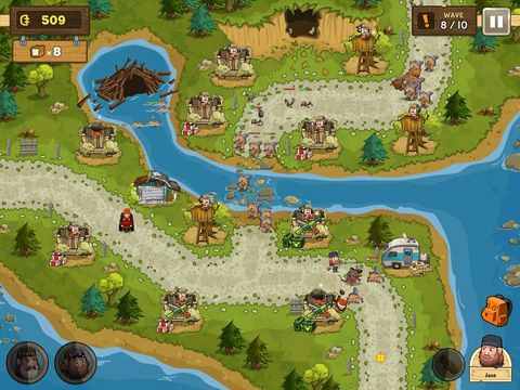 Screenshots vom Spiel Duck commander: Duck defense für iPhone, iPad oder iPod.