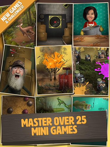 Screenshots vom Spiel Duck dynasty: Battle of the beards für iPhone, iPad oder iPod.