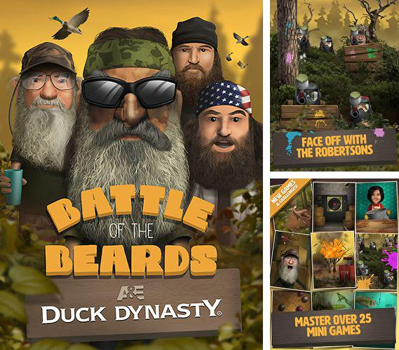 En plus du jeu Oeuf pourri  pour iPhone, iPad ou iPod, vous pouvez aussi télécharger gratuitement Dynastie de canards: Combat des barbes, Duck dynasty: Battle of the beards.