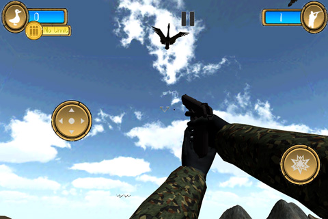 Descarga gratuita de Duck hunter pro 3D para iPhone, iPad y iPod.