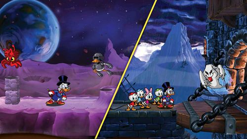 Screenshots of the Duck tales: Remastered game for iPhone, iPad or iPod.