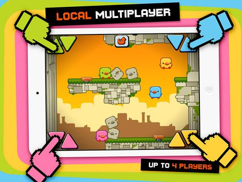 Screenshots of the Duck вumps game for iPhone, iPad or iPod.