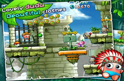 Capturas de pantalla del juego Dudu Rush! para iPhone, iPad o iPod.