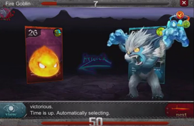 Screenshots of the Duel of Fate game for iPhone, iPad or iPod.