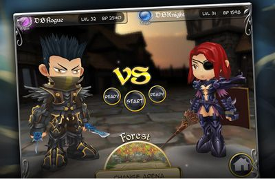 Download Dueling Blades iPhone free game.