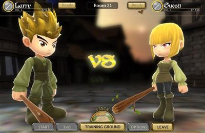 Descarga gratuita de Dueling Blades para iPhone, iPad y iPod.