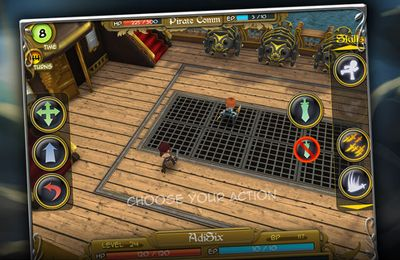 Capturas de pantalla del juego Dueling Blades para iPhone, iPad o iPod.