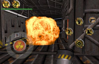 Screenshots of the Duke Nukem 3D game for iPhone, iPad or iPod.