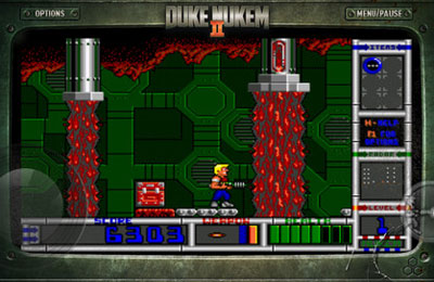 Free Duke Nukem 2 download for iPhone, iPad and iPod.