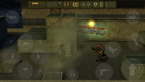 Screenshots do jogo Duke Nukem: Manhattan project para iPhone, iPad ou iPod.