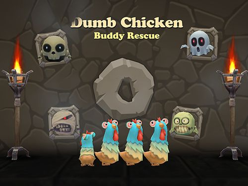 Dumb chicken: Buddy rescue