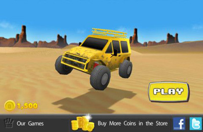 Download Dune Rider iPhone free game.