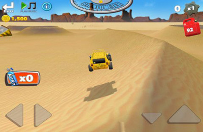 Screenshots of the Dune Rider game for iPhone, iPad or iPod.