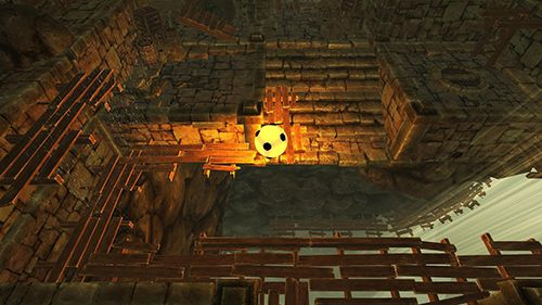Screenshots of the Dungeon ball game for iPhone, iPad or iPod.