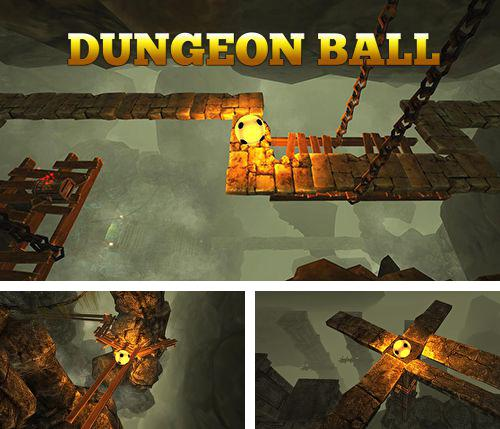In addition to the game Ninja hop for iPhone, iPad or iPod, you can also download Dungeon ball for free.