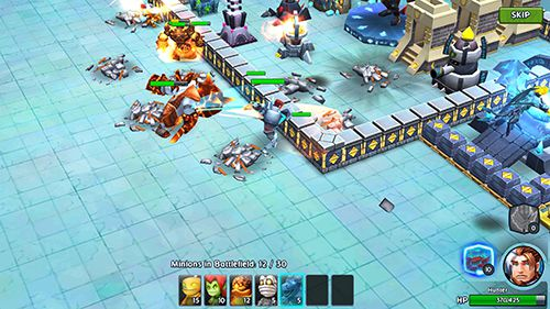 Capturas de pantalla del juego Dungeon battles para iPhone, iPad o iPod.