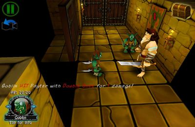 Écrans du jeu Dungeon Crawlers pour iPhone, iPad ou iPod.