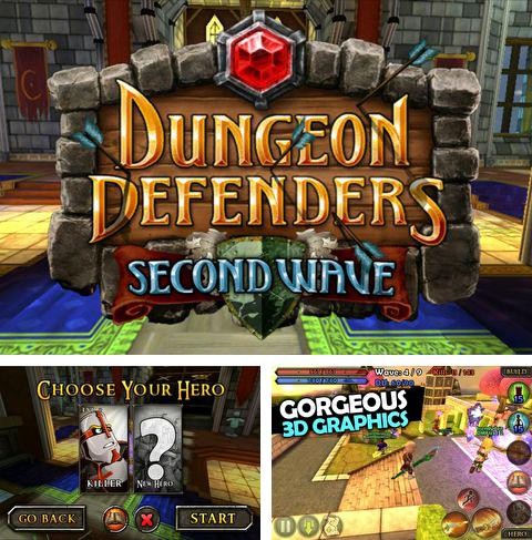 In addition to the game Zombie mania for iPhone, iPad or iPod, you can also download Dungeon defenders: Second wave for free.
