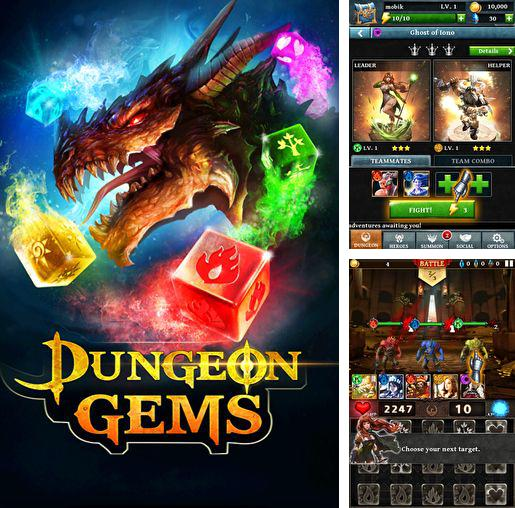 In addition to the game Popping sports for iPhone, iPad or iPod, you can also download Dungeon gems for free.