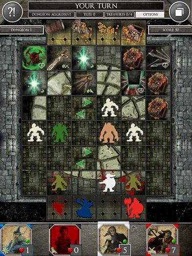 Download Dungeon heroes: The board game iPhone free game.