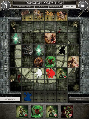 Free Dungeon heroes: The board game download for iPhone, iPad and iPod.