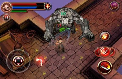 Descarga gratuita de Dungeon Hunter para iPhone, iPad y iPod.