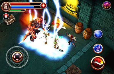 Screenshots vom Spiel Dungeon Hunter für iPhone, iPad oder iPod.