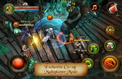 Descarga gratuita de Dungeon Hunter 2 para iPhone, iPad y iPod.